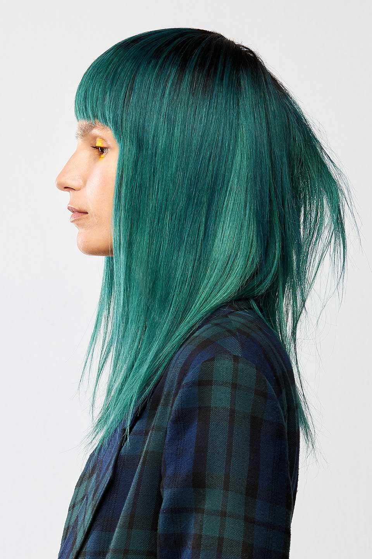 Fotografia Belleza Zaragoza - Green Hair | Ruben Baron - Photography